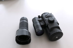 Okular und VOrsatzgerät Pulsar FN455